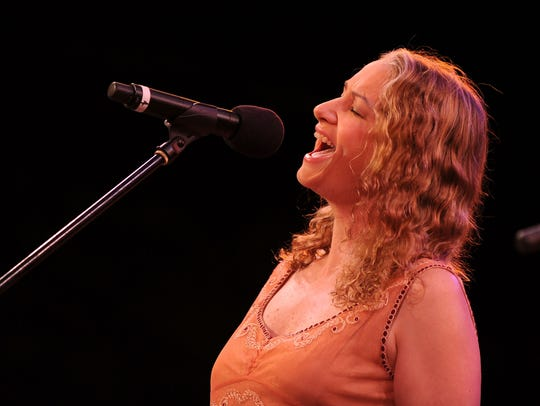 Joan Osborne performs at the 25th Anniversary Summerstage