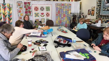 Handmade: 'Quilting Season' is marked by volunteers