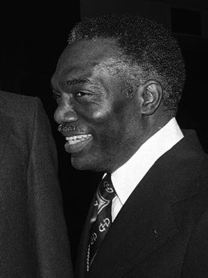 Walter Leonard in March 1979, while he was president of Fisk University