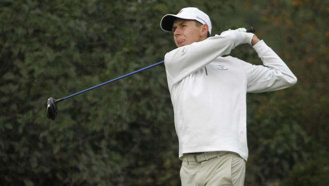 Daniel Wetterich is competing in his first Metro tournament, and has advanced to the match-play final.