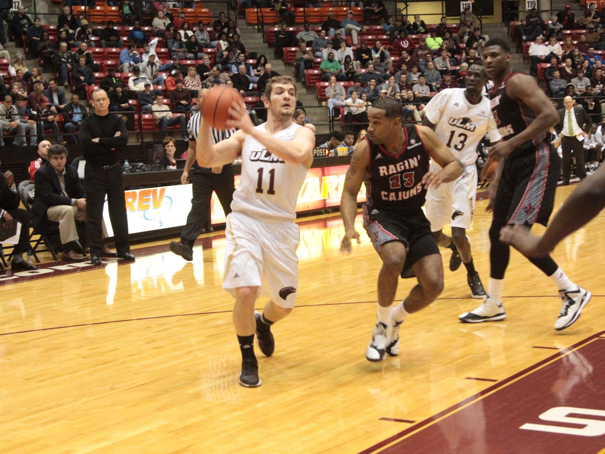 Nick Coppola played 1,308 minutes for ULM during the