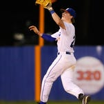 Madison Central shortstop Nick Kavanaugh makes a play on a pop fly against Northwest Rankin on Tuesday at Madison Central.