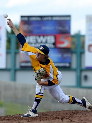 Former Great Falls Chargers' pitcher Tyler Strickland threw a no-hitter for Treasure Valley (Ore.) Community College last weekend.