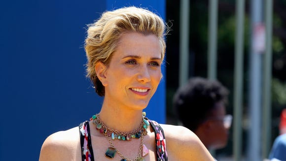 "Kristen Wiig brushed her short hair back for the 'Despicable Me 3' premiere in Los Angeles in June. She'll play Wonder Woman's nemesis in the upcoming ""Wonder Woman"" sequel, now in pre-production."