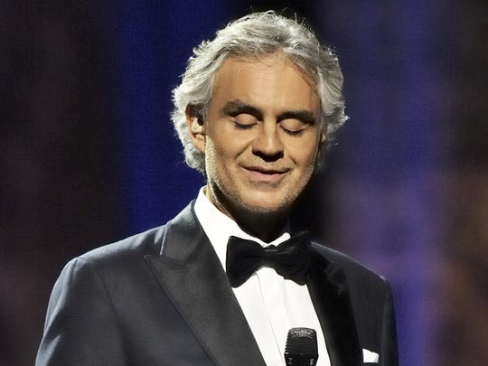 "Andrea  Bocelli sings for a ""Great Performances"" PBS Special."