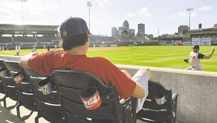 From the vault: Iowa Cubs play game without any fans
