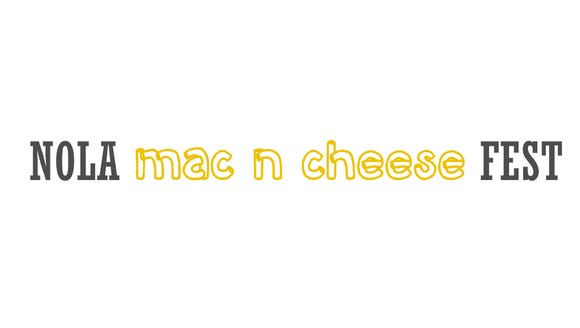 The inaugural NOLA Mac 'n' Cheese Fest will take place