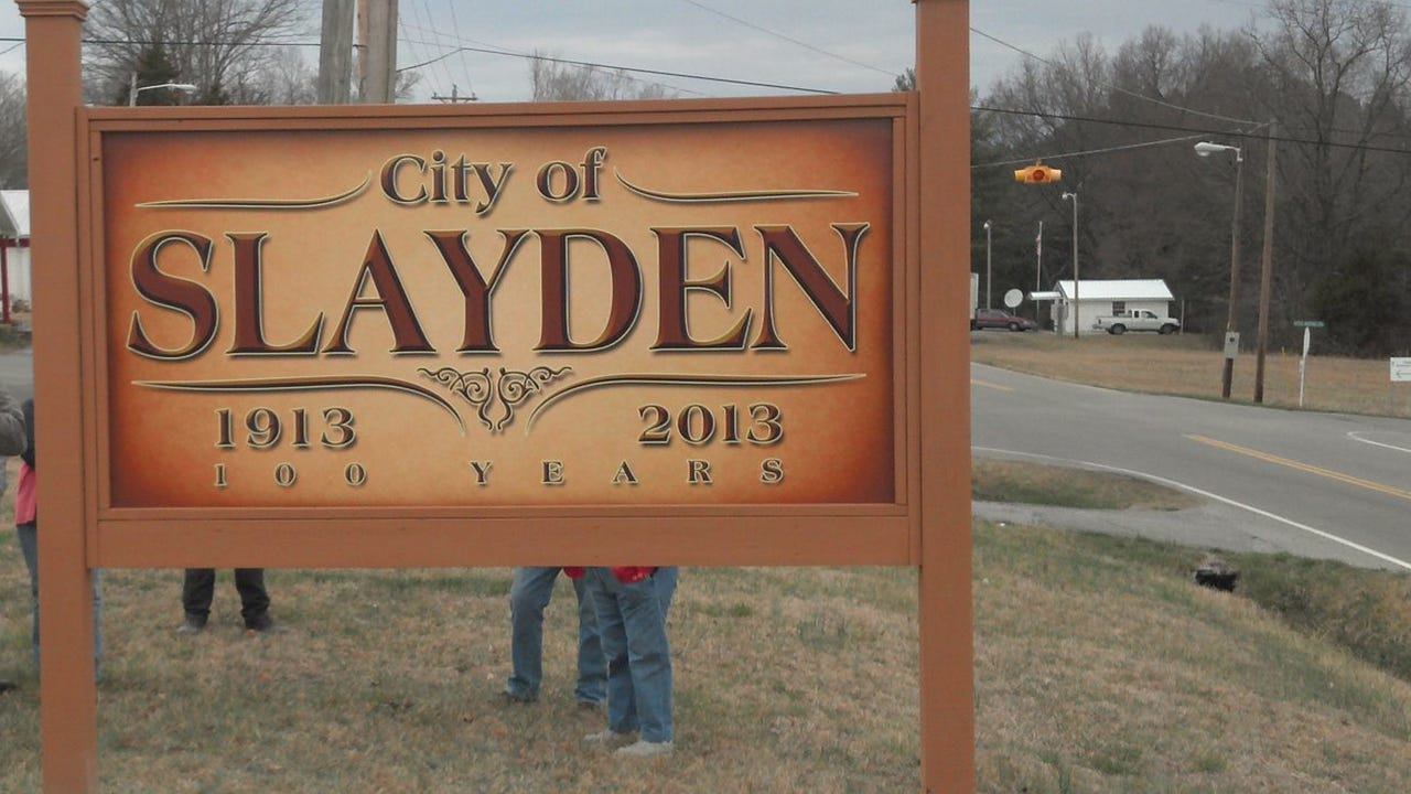 Town leaders have organized the first Slayden Trade Days Festival to bring publicity to the town and raise funds for a park and more.
