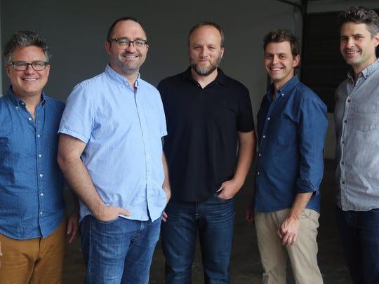 Barrett Ward, Jesse Sproul, Joel Griffith, Matt Lehman,