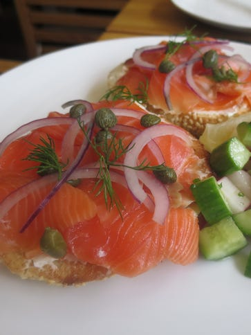 Most popular seafood choices, such as salmon, are in