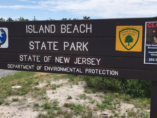 Image result for island beach state park