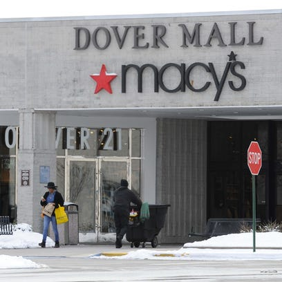 Dover Mall where police say Abror Habibov - one of
