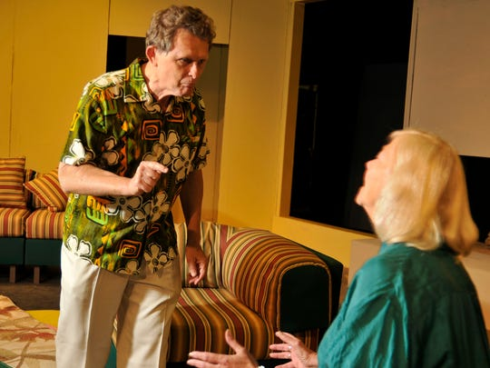"""Tom Nance and Nancy Holley stars in the production of """"Other Desert Cities"""" at the Ice House Theatre"""