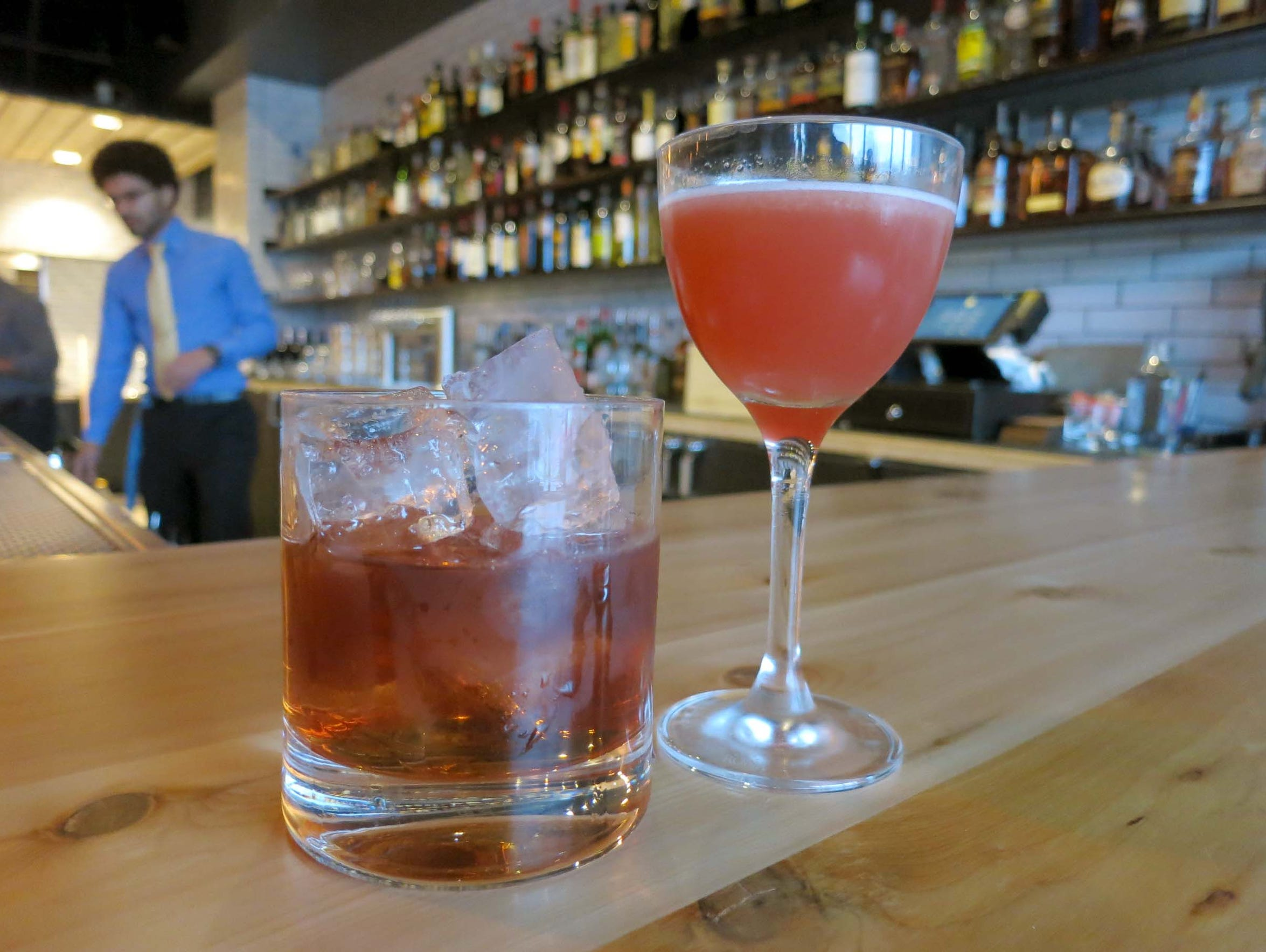 Craft cocktails at the new Selden Standard in Detroit