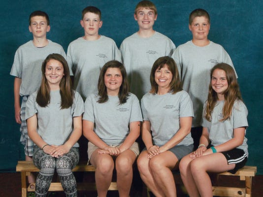 4-H Youth conf grp