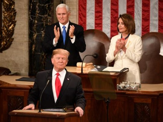 President Trump's second State of the Union address.