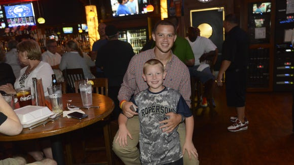 Roberson graduate Braxton Davidson at his major league draft party in June 2014.
