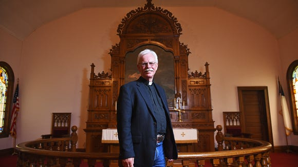 Pastor Rick Senner poses for a portrait Tuesday, May