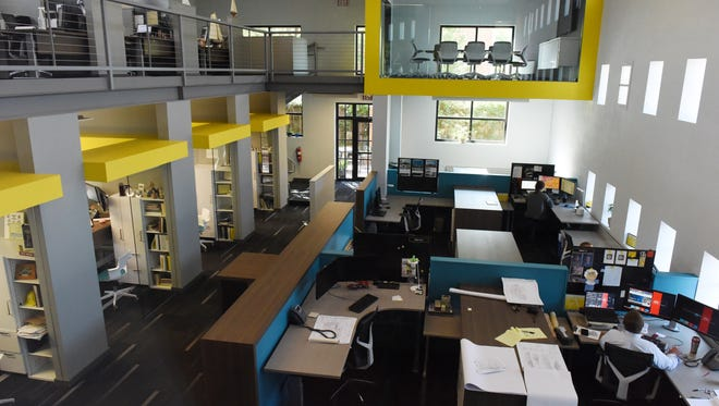 Architecture Incorporated at 415 South Main Avenue in downtown Sioux Falls has been completely renovated.
