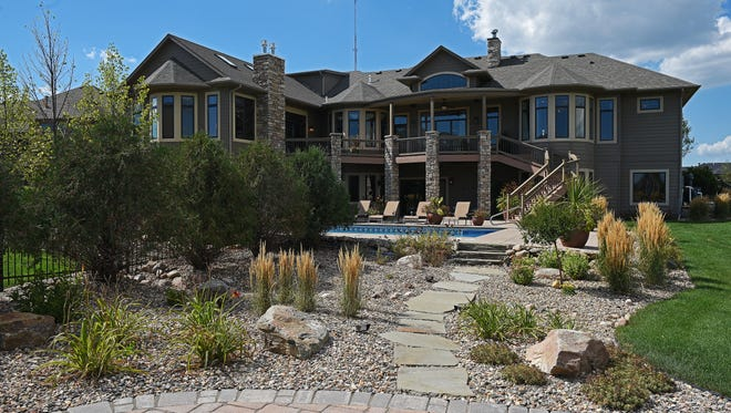 This home in the Prairie Hills neighborhood is listed for $1.55 million.