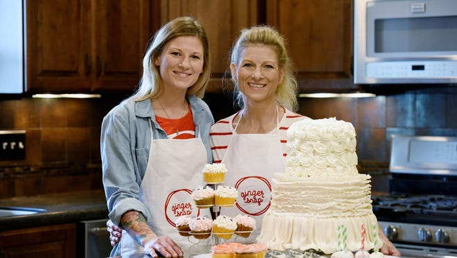 Ginger Snap Bakery owners Chelsea Wettstein (left) and Ginger Wettstein are a mother-daughter duo based in Beresford.