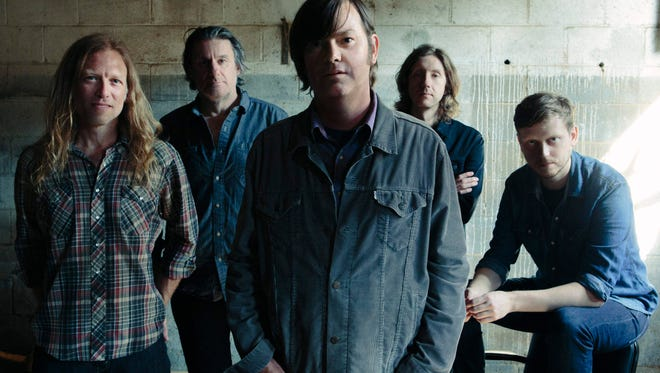 Son Volt, led by Jay Farrar (center), will perform at Duling Hall Tuesday at 8 p.m.