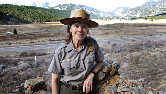 Superintendent Darla Sidles poses for a portrait at Rocky Mountain National Park on Thursday, March 23, 2017. Sidles was named superintendent of the iconic national park last summer.