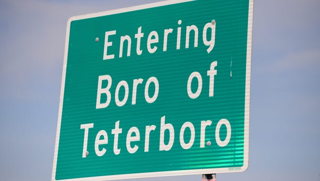 Teterboro Welcome Sign