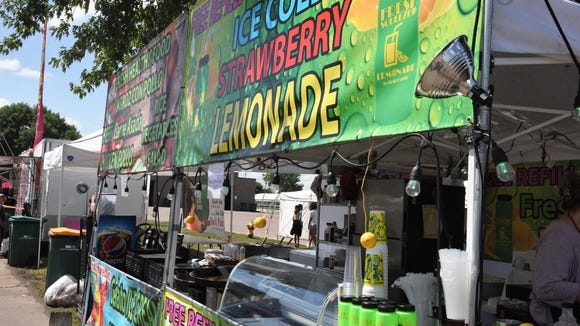 Lemonade stands are a staple at the Sioux Empire Fair,