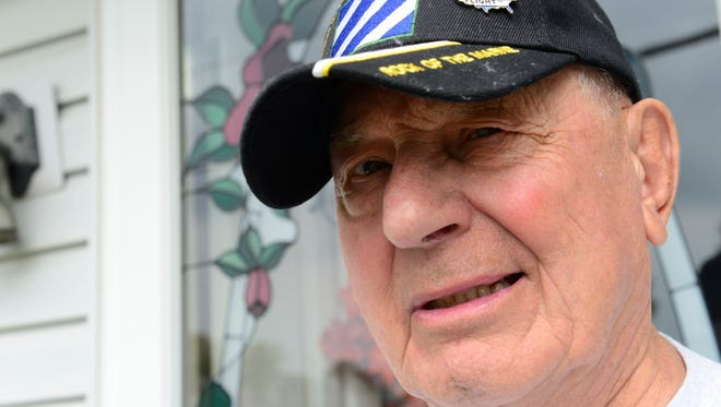 Harry Hubbs, 82, of Fremont is a U.S. Army veteran. He will be going on an Honor Flight from Toledo to Washington D.C.