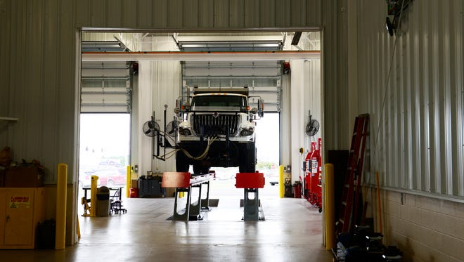 The public was invited to tour Ohio Department of Transportation's new Sandusky County garage at 1891 North Ohio 53 during an open house on Thursday.