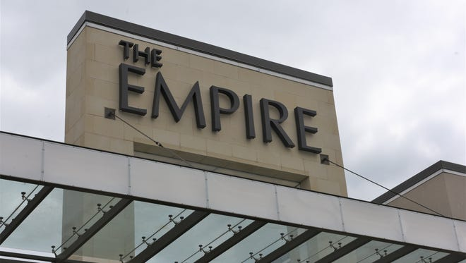 A front entrance at the Empire Mall in Sioux Falls.