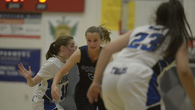 Poudre's Libby Couture leads area players in rebounding, averaging 10.8 per game.