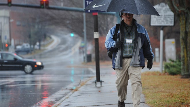 Rainy weather is expected on Tuesday in WNC.