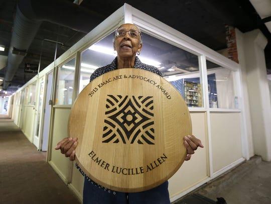 Elmer Lucille Allen was recently awarded the Kentucky