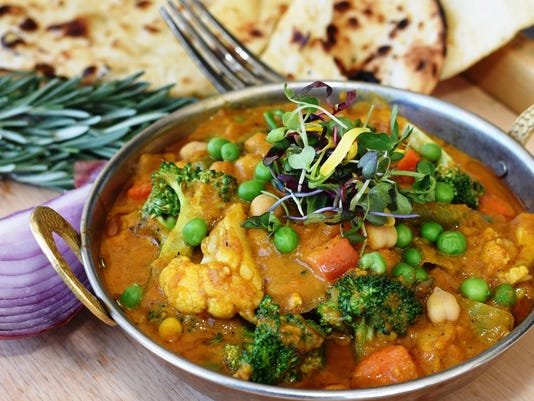 Marigold Maison, vegetable curry