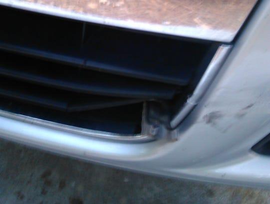 Hit-run car