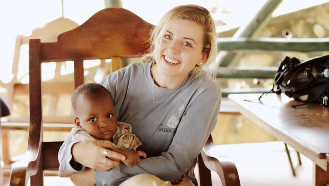 Lara Gaffney, of New Rochelle, spent time in Uganda and South Africa to study the spread of HIV. She returned to school in Baltimore to study the spread of Zika virus.