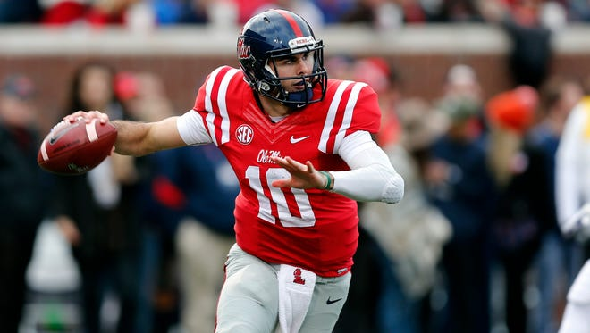 Chad Kelly enters the spring as perhaps the SEC's most established quarterback along with Tennessee's Josh Dobbs.