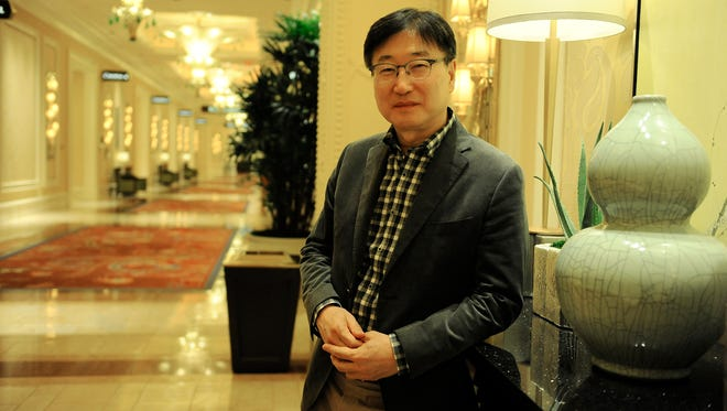 CEO Samsung.Samsung Electronics CEO and president BK Yoon.