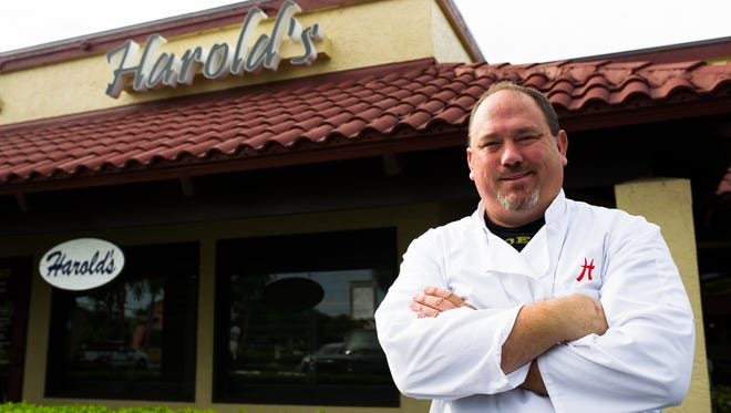 Chef Harold Balink sold Cru to open Harold's in south Fort Myers in October.