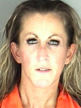 Jessica L. Andrews, 39, was arrested Sunday outside a residence in the 300 block of S.E. Lawrence Street in connection with distributing heroin and possession of opiate, opium, narcotics or certain stimulants.