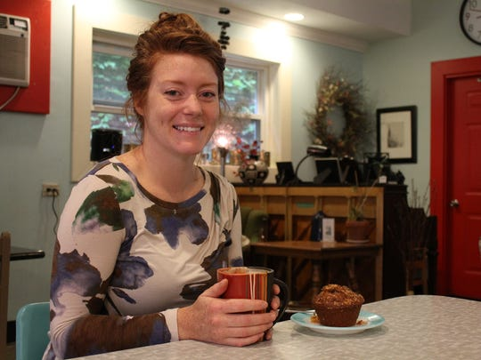 Ali Zimmerman bought Kaukauna Coffee & Tea in 2009 and says she's grown along with the business since that time.