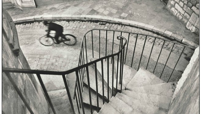 """Henri Cartier-Bresson's silver gelatin print from 1932, """"Hyères,"""" is among the photographs in the new exhibition at Florida Tech's Foosaner Art Museum."""