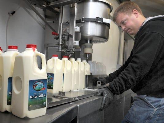 AP Raw milk sales