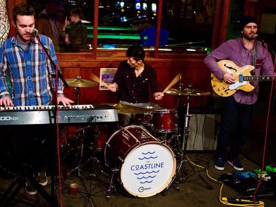 The Coastline will play a 21-and-older show 8 p.m. Feb. 19 at Boon' s Treasury.
