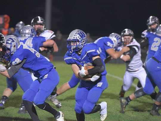 Zach Houck had a huge game on the road against Allen East and the Royals look to have turned their season around after the week one blowout.