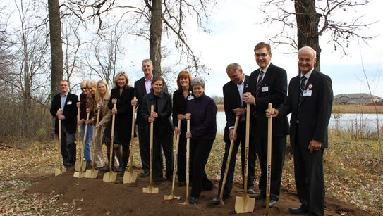 A groundbreaking ceremony was this week for Chateau
