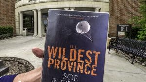 """The Wildest Province,"" somehow traveled all the way from Dudley, England to Burlington, Ky. It was found int the Boone County Public Library's drop box."