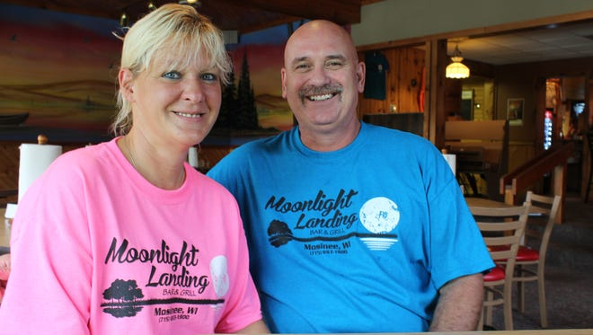 Lisa and Don Moon, pictured above, recently took over Mulligan's Landing in Mosinee and renamed it Moonlight Landing.